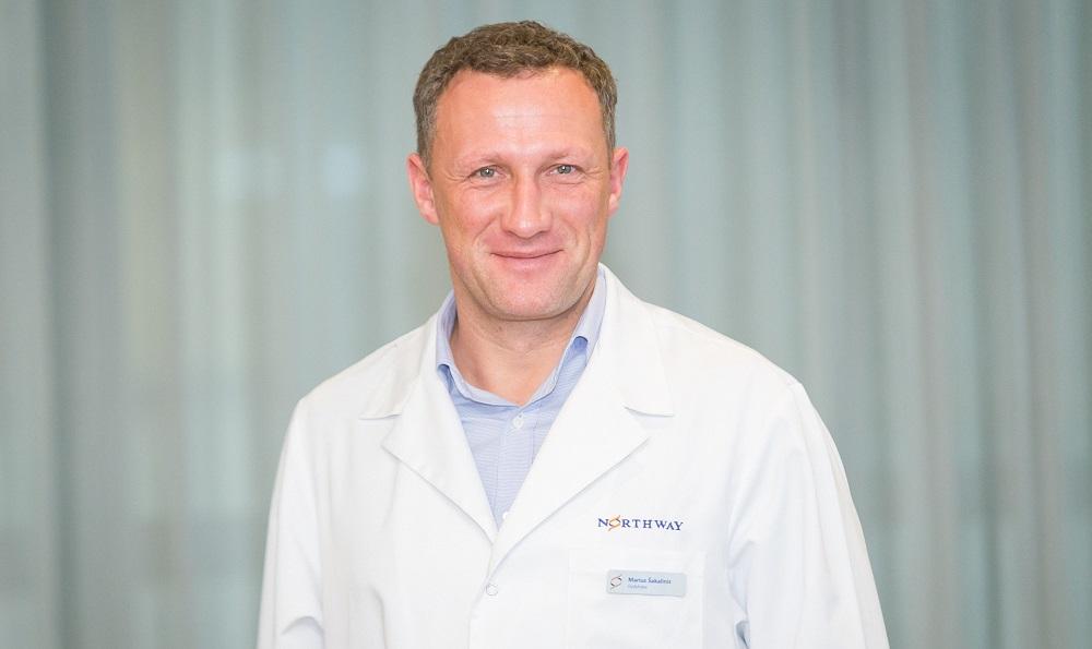 Ortopedas Traumatologas Marius Šakalinis