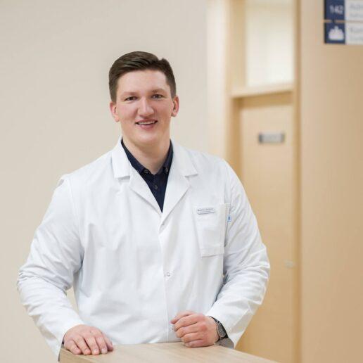 Northway Medicinos Centro Klaipėdoje Otorinolaringologas Modestas Maslovas