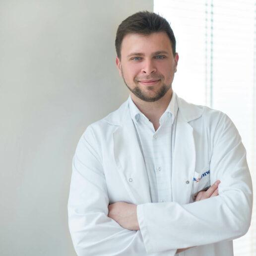 Northway Klaipėda ortopedas traumatologas Aleksej Lebedev